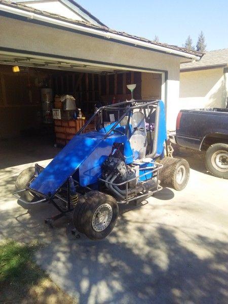 Micro 600 Sprint Car Fresno California Dirt Oval Track Cars