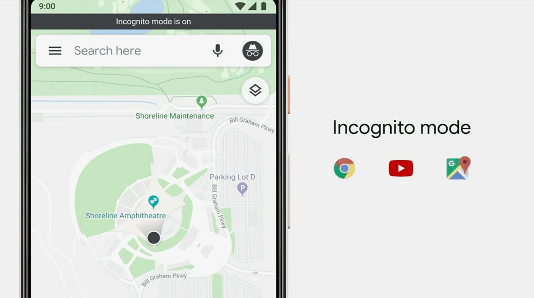 Goolge Maps Is Getting An Incognito Mode Map Technology Updates Google Maps