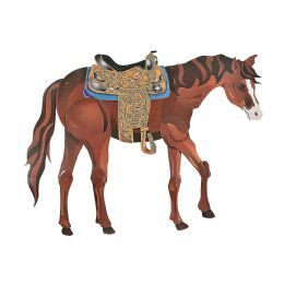 Large Horse Jointed Cardboard Cut Out | £9.99 | Stage Prop