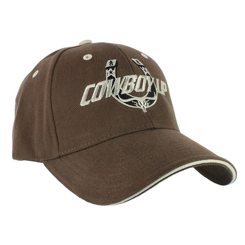 f3814280f Cowboy Up Men s Embroidered Ball Cap