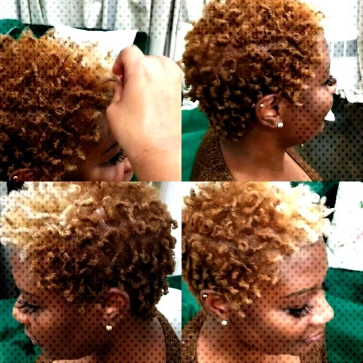 NEW HAIR COLOR AND STYLE...#naturalhairstyles