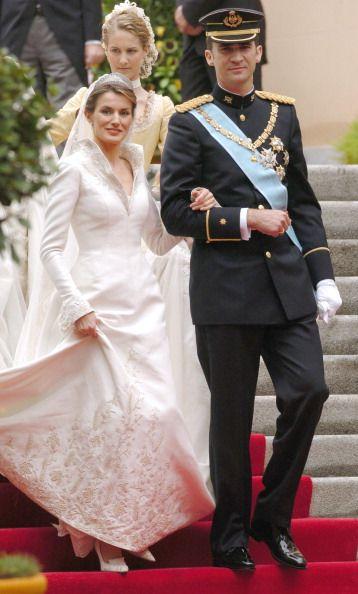 Spanish Royal Wedding Ten Years On: The Bride   Letizia, Queen of ...