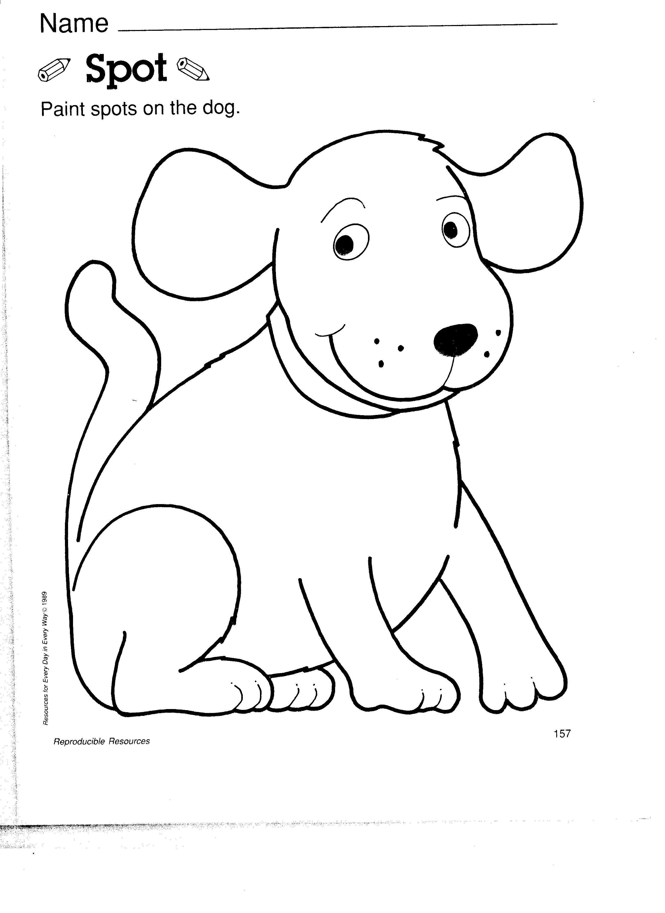Pets Dog Coloring Page Dog Coloring Page