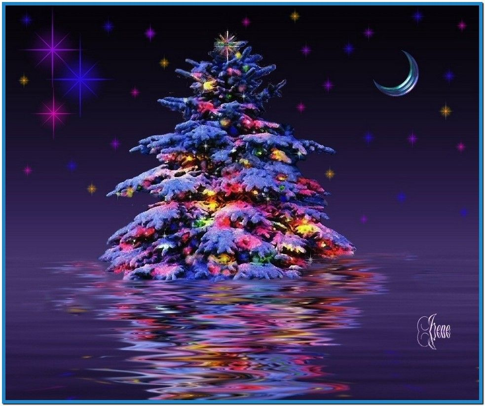It S Interactive Live Wallpaper So You Can Decorate And Light Up The Christmas Tree Christmas Tree Pictures Animated Christmas Tree Christmas Tree Background