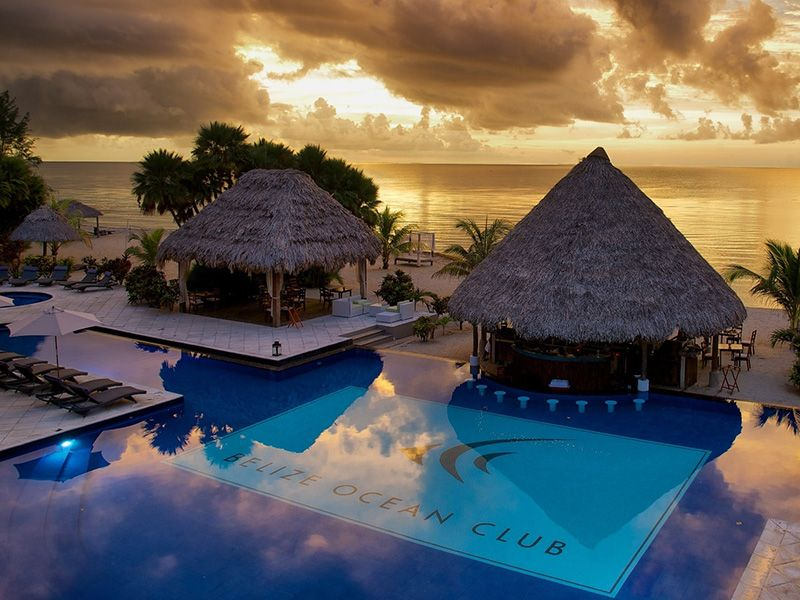 Belize Ocean Club Resort Spa Is Situated On The Beautiful Maya Beach With Luxurious