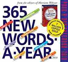 365 New Words-A-Year Page-A-Day Calendar 2018 (released August 2017)