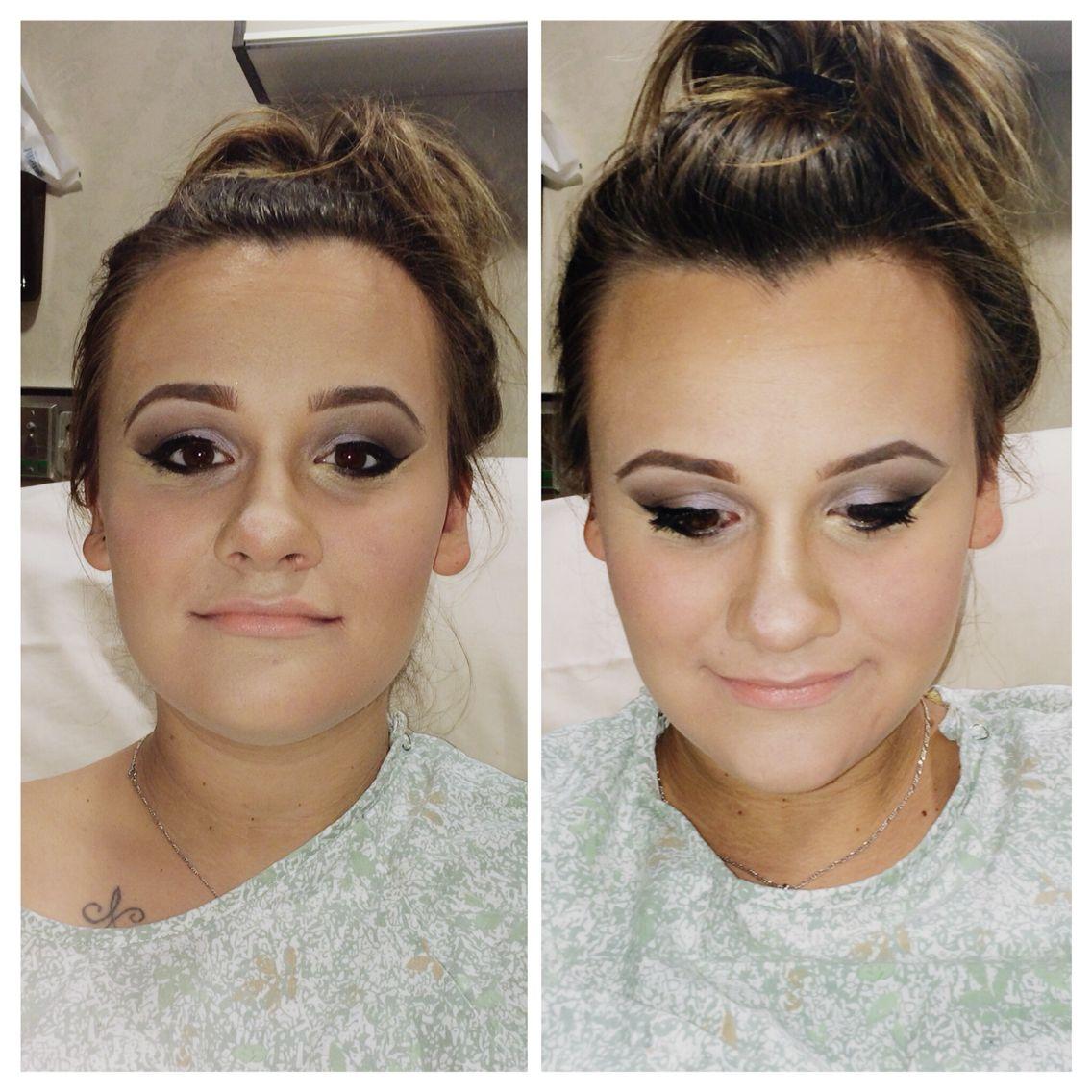 Instgram caityg_ Makeup