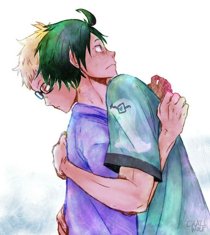 Childhood Friends •{Tsukkiyama}•  (Ara Verildi)