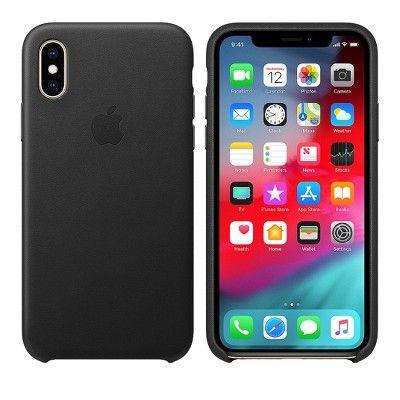 APPLE iPHONE XS COVER ORIGINALE IN SILICONE COLORE ARANCIONE