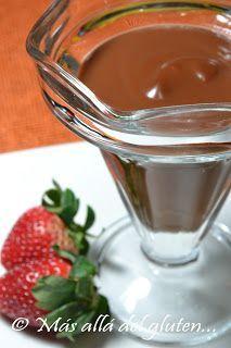 Pudin De Chocolate Receta Gfcfsf Food Sweet Recipes Desserts