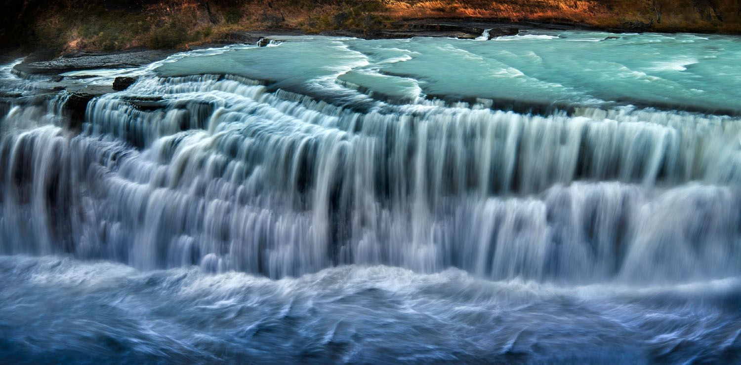 Photograph Cascada Paine, Torres del Paine National Park, Chile, March 2014 by Ignacio Palacios on 500px