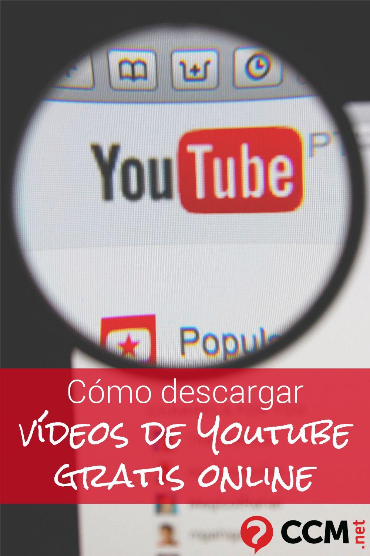 Bajar Videos De Youtube En Tu Pc O En Tu Telefono Sin Instalar