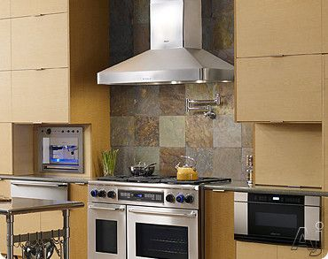 Dacor Dhw301 30 Inch Wall Mount Chimney Range Hood With 600 Cfm Internal Blower Halogen Lighting And Variable Speeds Best Wall Ovens Electric Wall Oven Wall Mount Oven