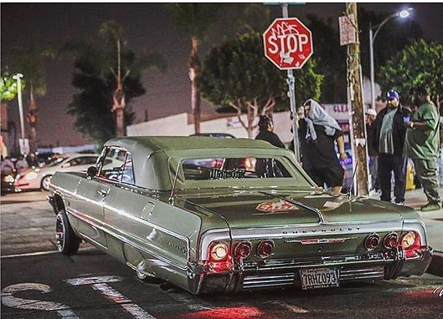 64 Chevy Impala Rag Low Low Just Like Old School High In Front And