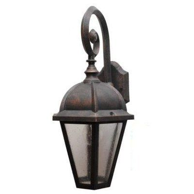 Kiss Series 19 X 10 Led Outdoor Wall Lantern Finish Rusty Nail By Melissa Lighting 167 99 K245016 Led Rn Outdoor Wall Lantern Wall Lantern Outdoor Walls
