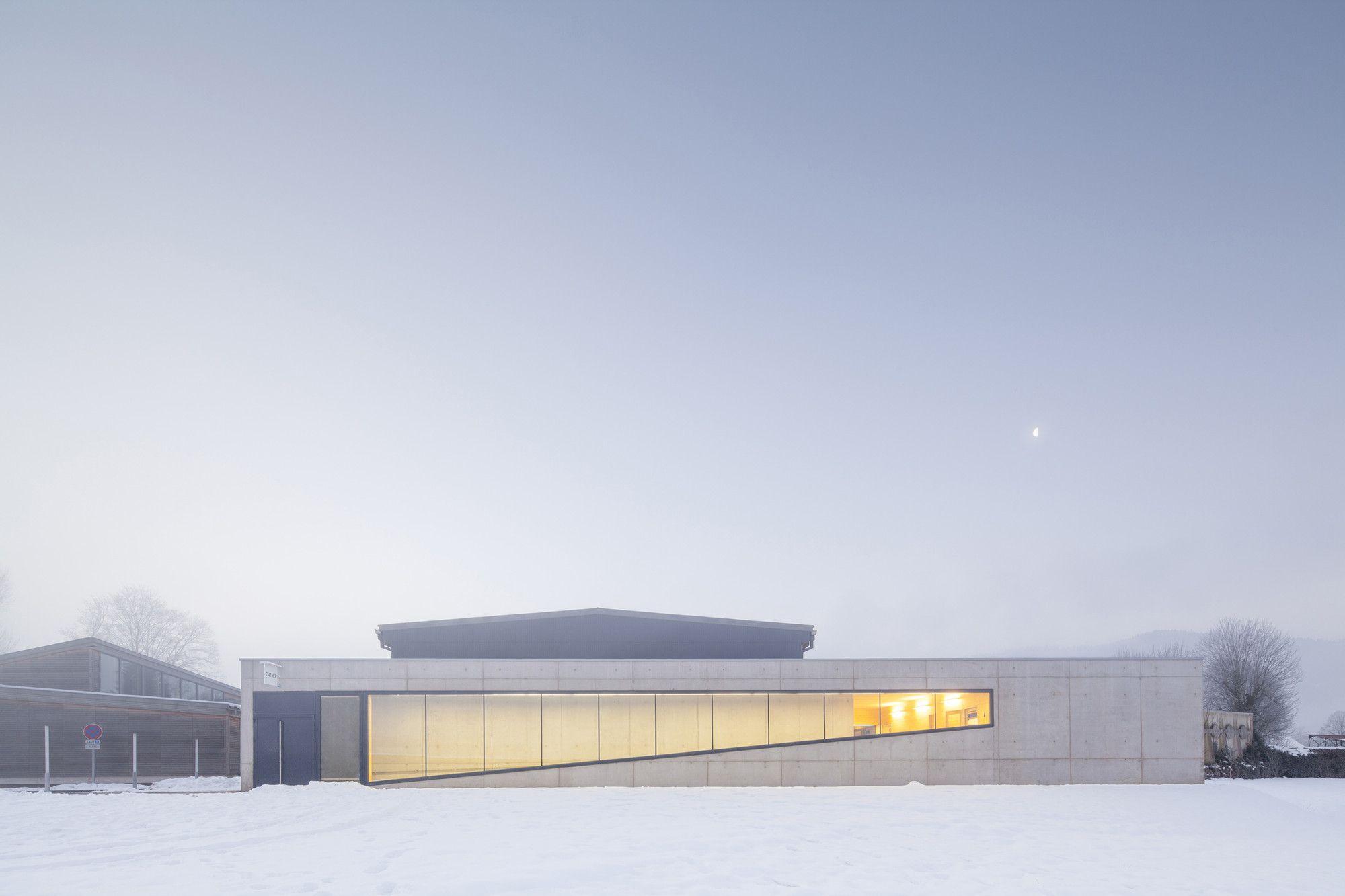 Galería - Renovación y Extensión de un Gimnasio en Vagney / Abc Studio Architects + Christian Vincent Architect - 10