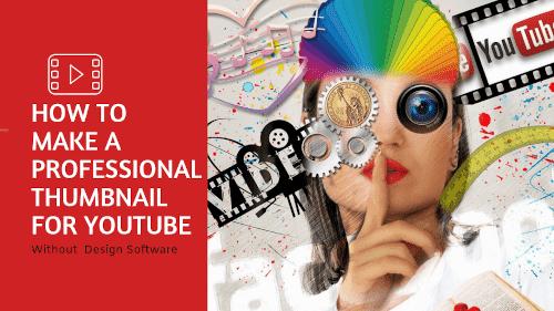 كيفيه عمل صوره مصغره لليوتيوب احترافيه بدون برامج كيف تقوم بتصميم صوره مصغره لفيديوهات اليوتيوب باحترافيه بدون استخدام برامج ال Youtube Software Design Design