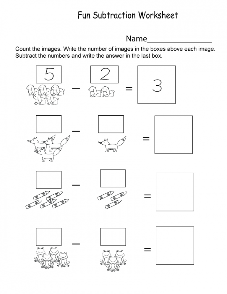 Introductory Kindergarten Math Worksheets PDF | Kindergarten ...