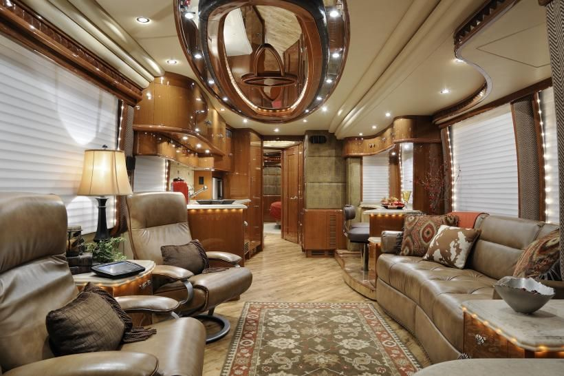 Used Couches For Sale >> New Luxury Motorcoach | 2012 Prevost 43-45 | Custom ...