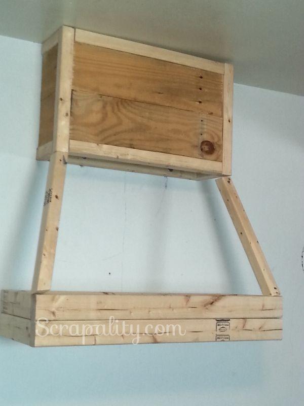 Building A Frame For The Rustic Pallet Kitchen Hood Farmhouse Shelves Kitchen Hoods Farmhouse Shelves Diy