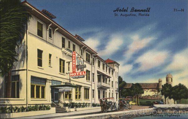 Hotel Bennett St. Augustine Florida