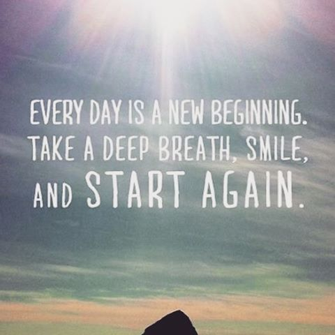Every Day Is A New Beginning Quote Positive Happy Quotes Smile Inspirational Quotes Motivation Life Quotes