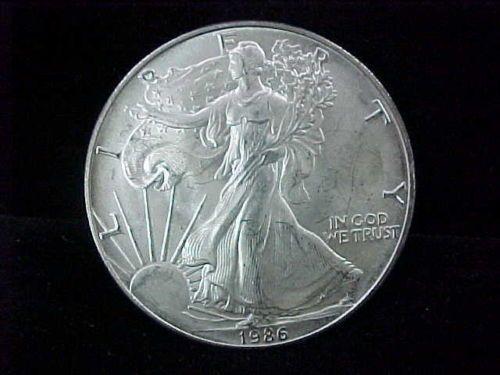 1986 1 Troy Oz 999 Fine Silver American Eagle Key Date 1st Year Issue Ebay Silver Bullion Coins Silver Bullion Bullion Coins