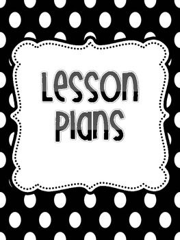 Free Lesson Plan Binder Covers  Classroom Organization And Decor
