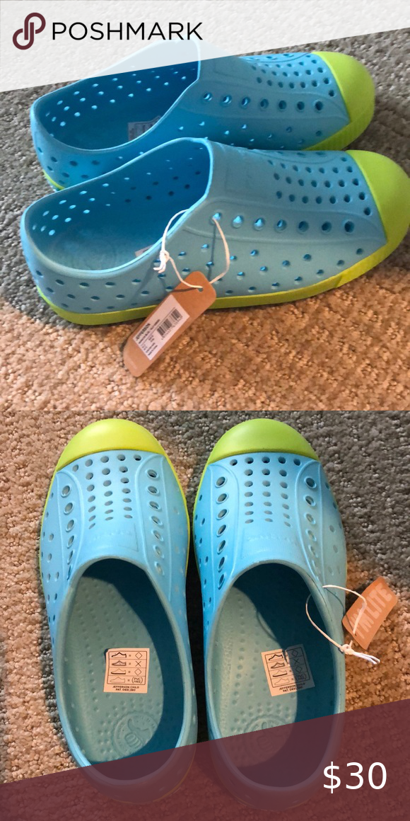 Native Jefferson blue and green size 1