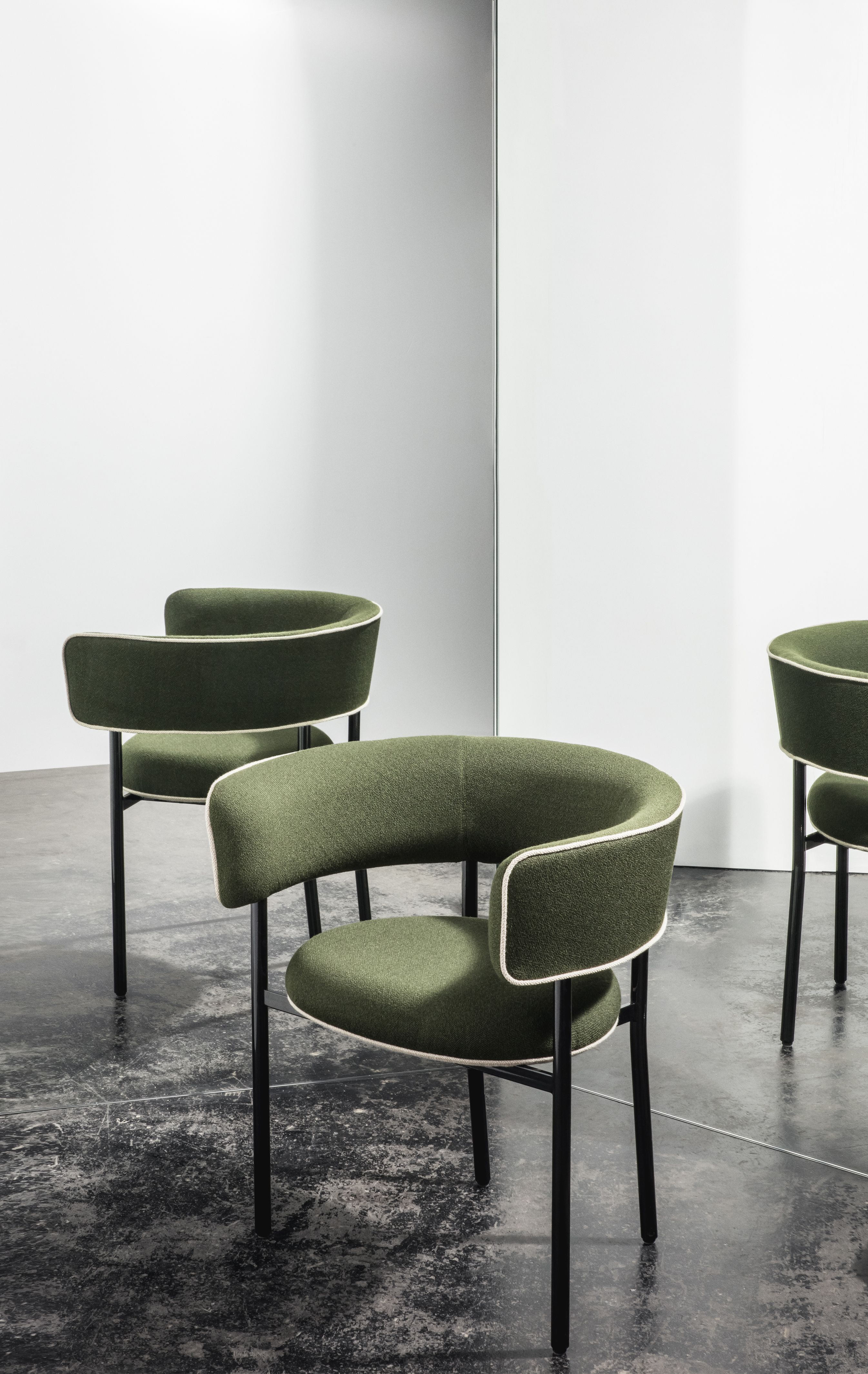 Fonts is a family of upholstered chairs ranging from a sofa, to ...