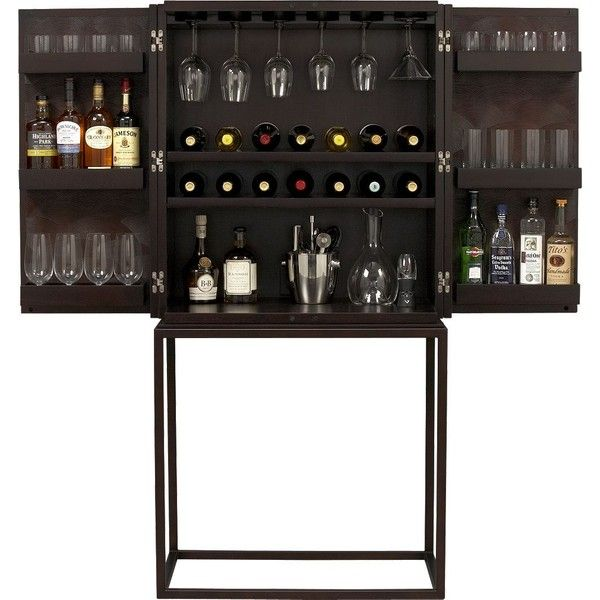 tessen bar cabinet 699 liked on polyvore featuring home rh pinterest com