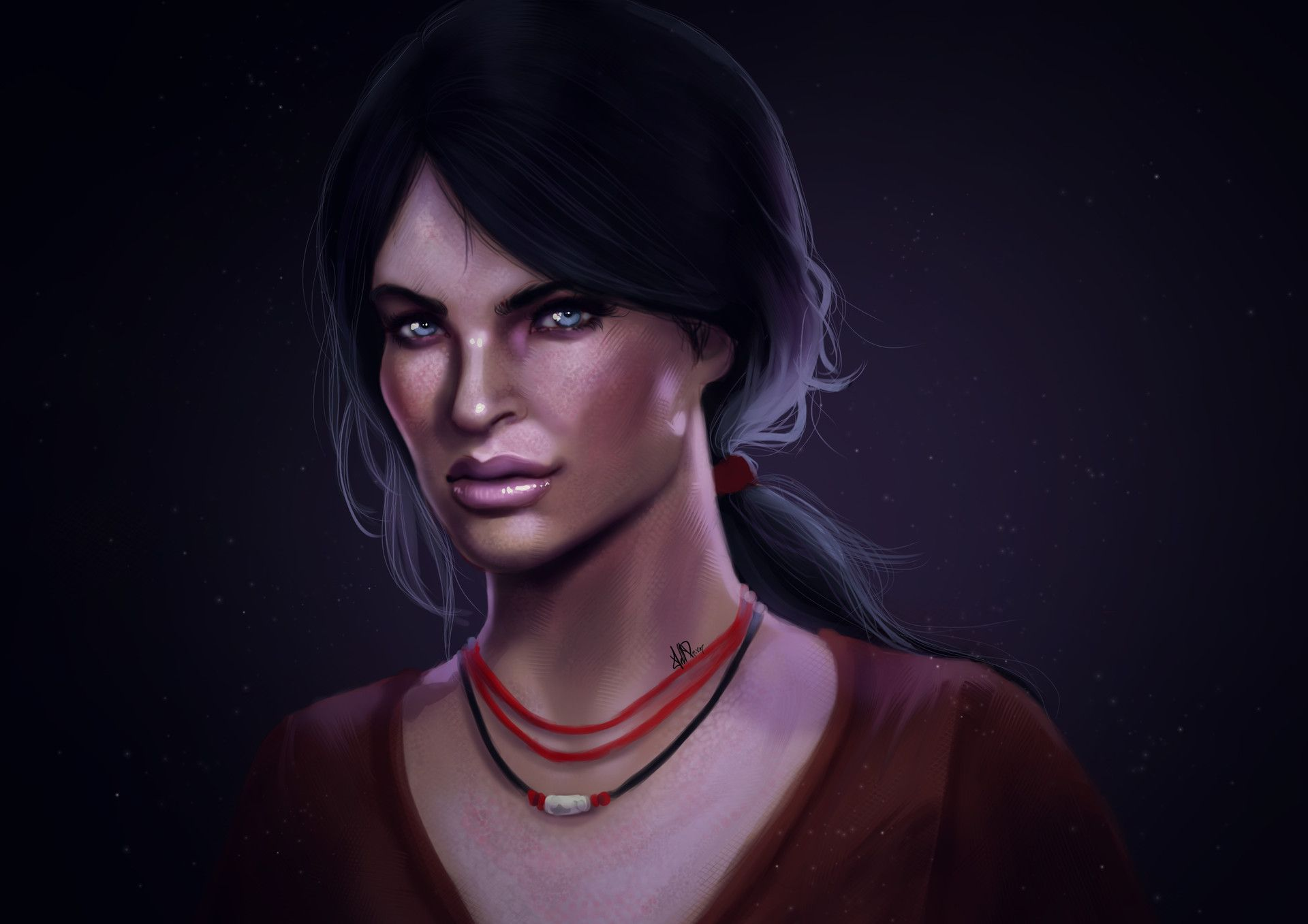 Artstation Chloe Frazer Uncharted The Lost Legacy Michael Alba