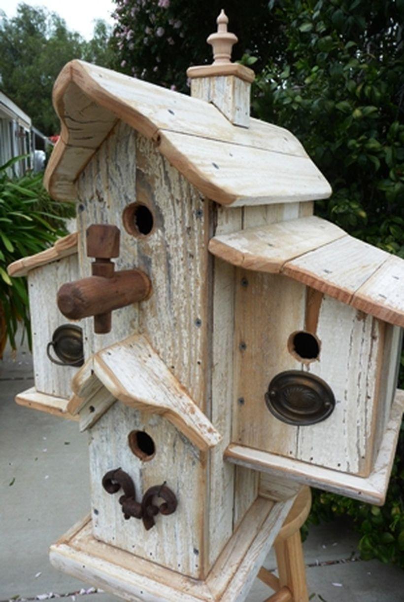 inspiring stand bird house ideas for your garden 3 | birds