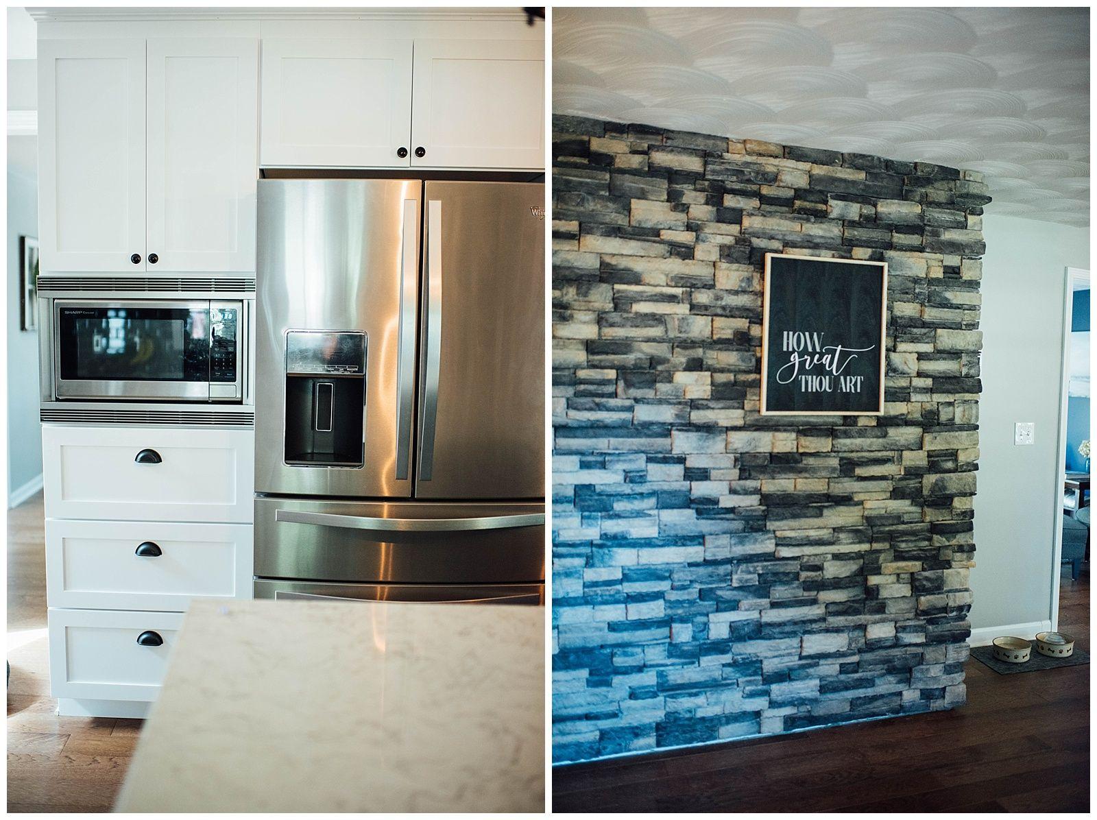 Before After Kitchen Vinyl Wrap Kitchen Vinyl Kitchen Wrap Custom Kitchen Remodel