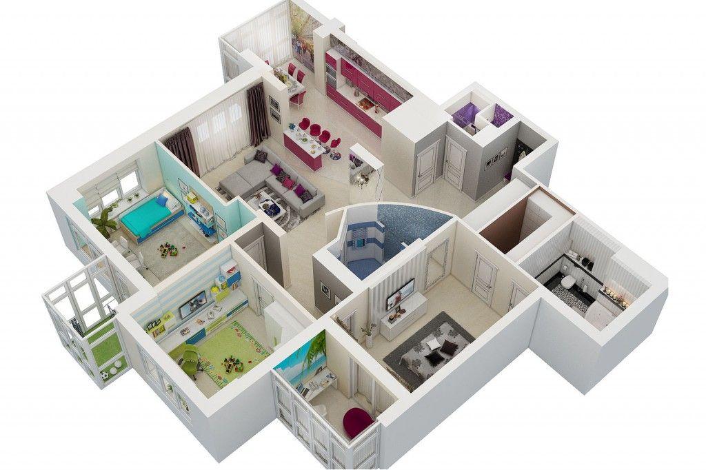 Дизайн интерьера квартир Лучший и современный дизайн комнаты в