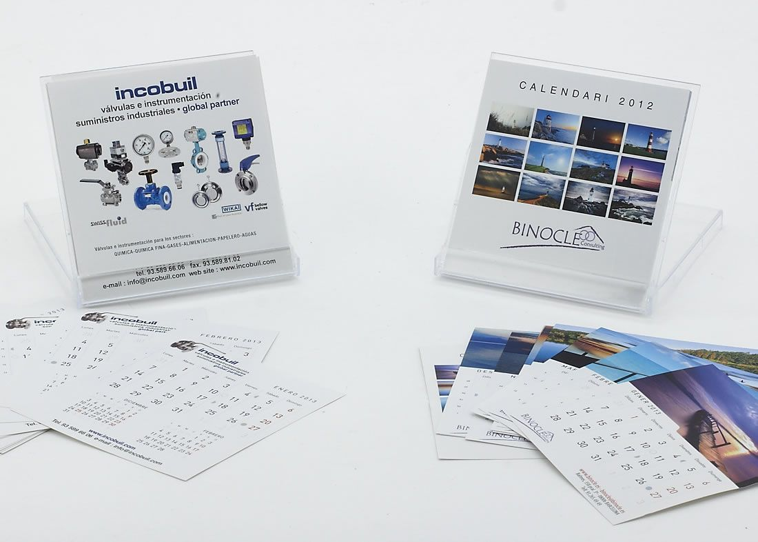 Calendario Incobuil  Calendario Binocle