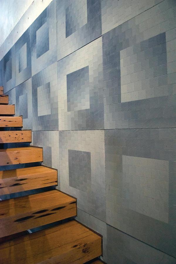 Concrete House Featuring Decorative Concrete Work Concrete Decor Precast Concrete Panels Precast Concrete