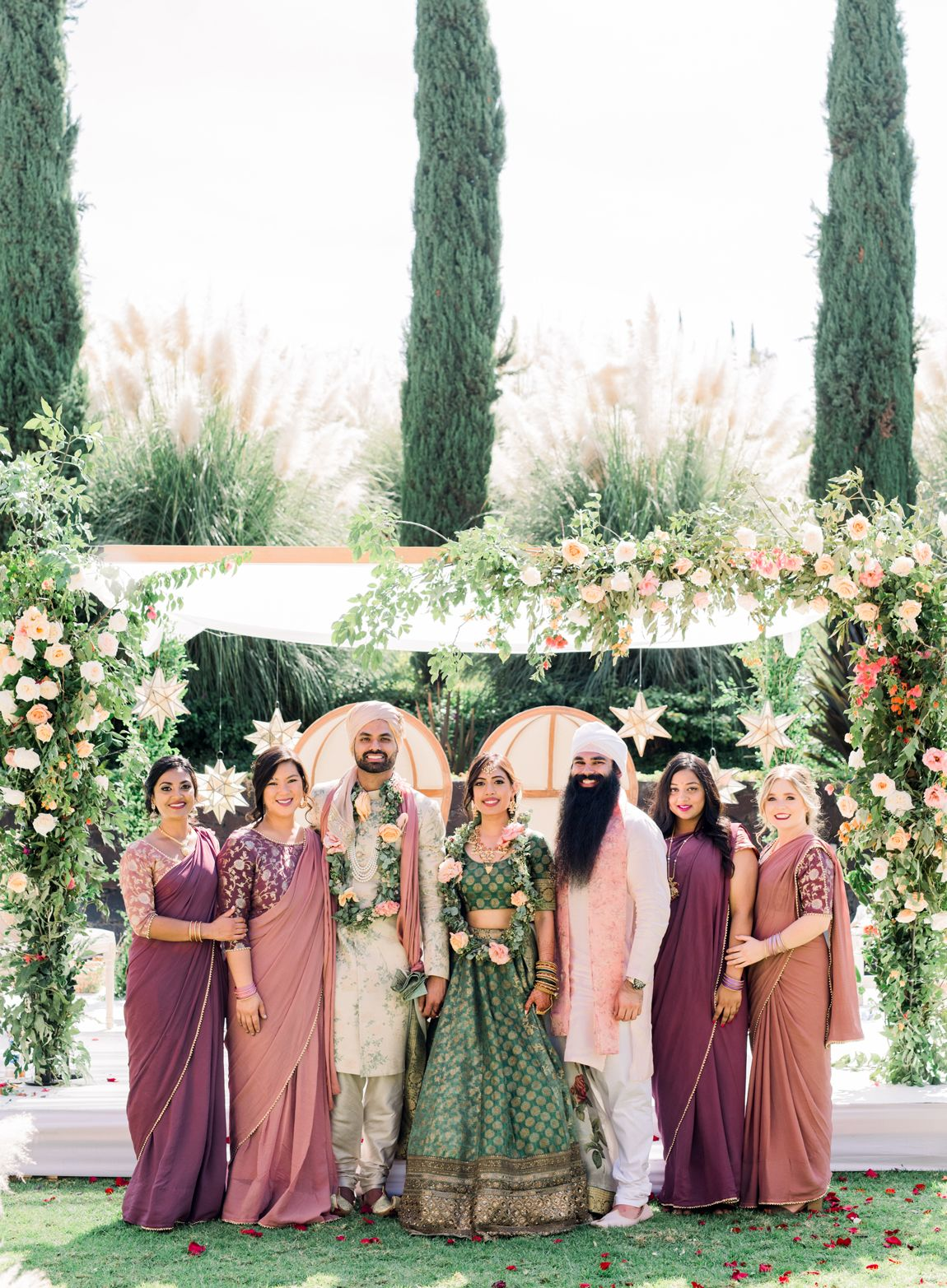 This Couple Planned a Colorful Indian Wedding in San Miguel, Mexico -   18 wedding Indian ideas