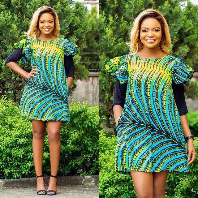 c6f42519530f  od9jastyles www.od9jastyles.com - African dresses Ankara Recent styles  Beautiful Ankara styles Ankara latest fashion Different style dresses  Fashion ...