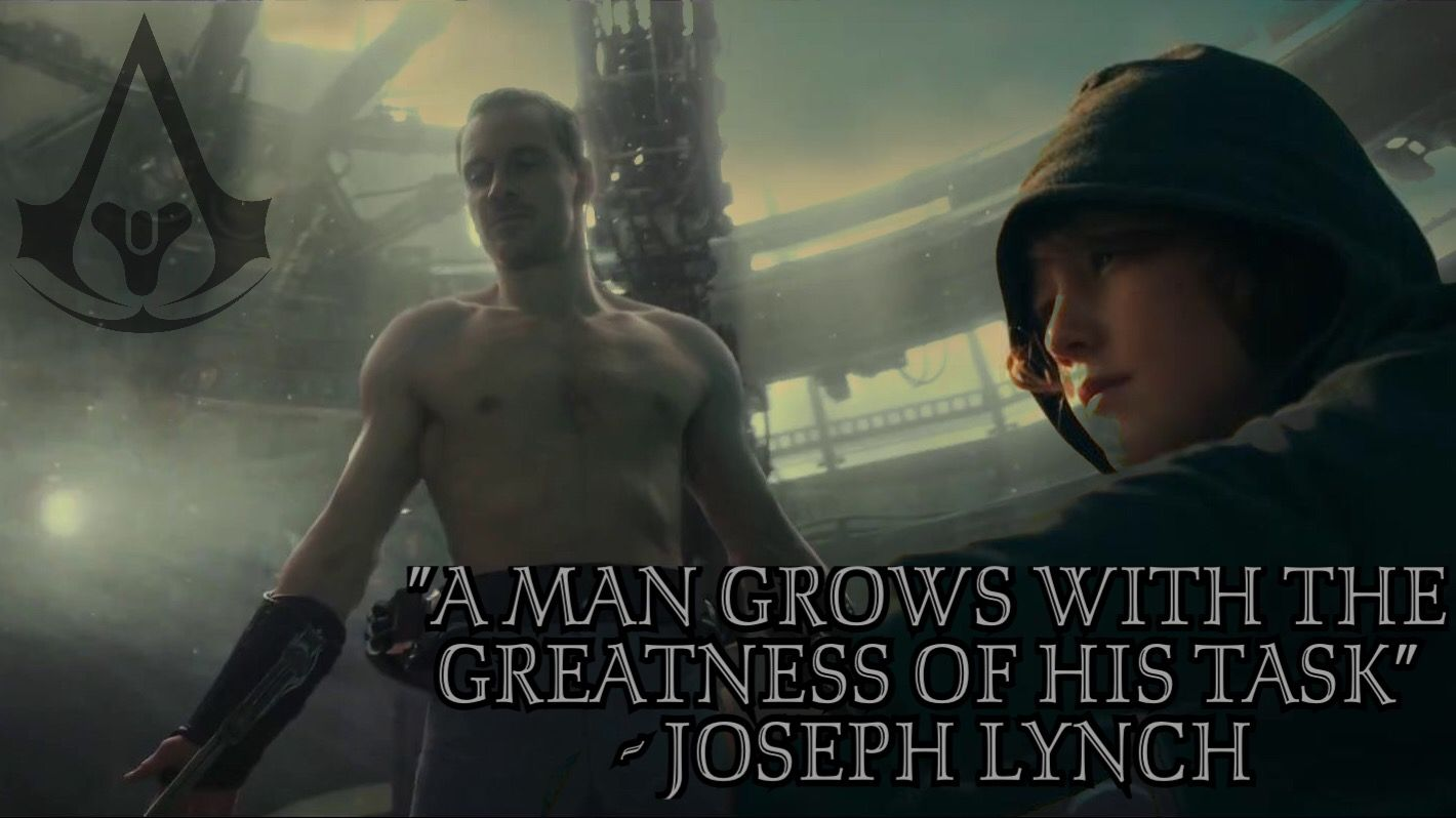 Assassin S Creed Movie Quote Edited By Aquilaassassin