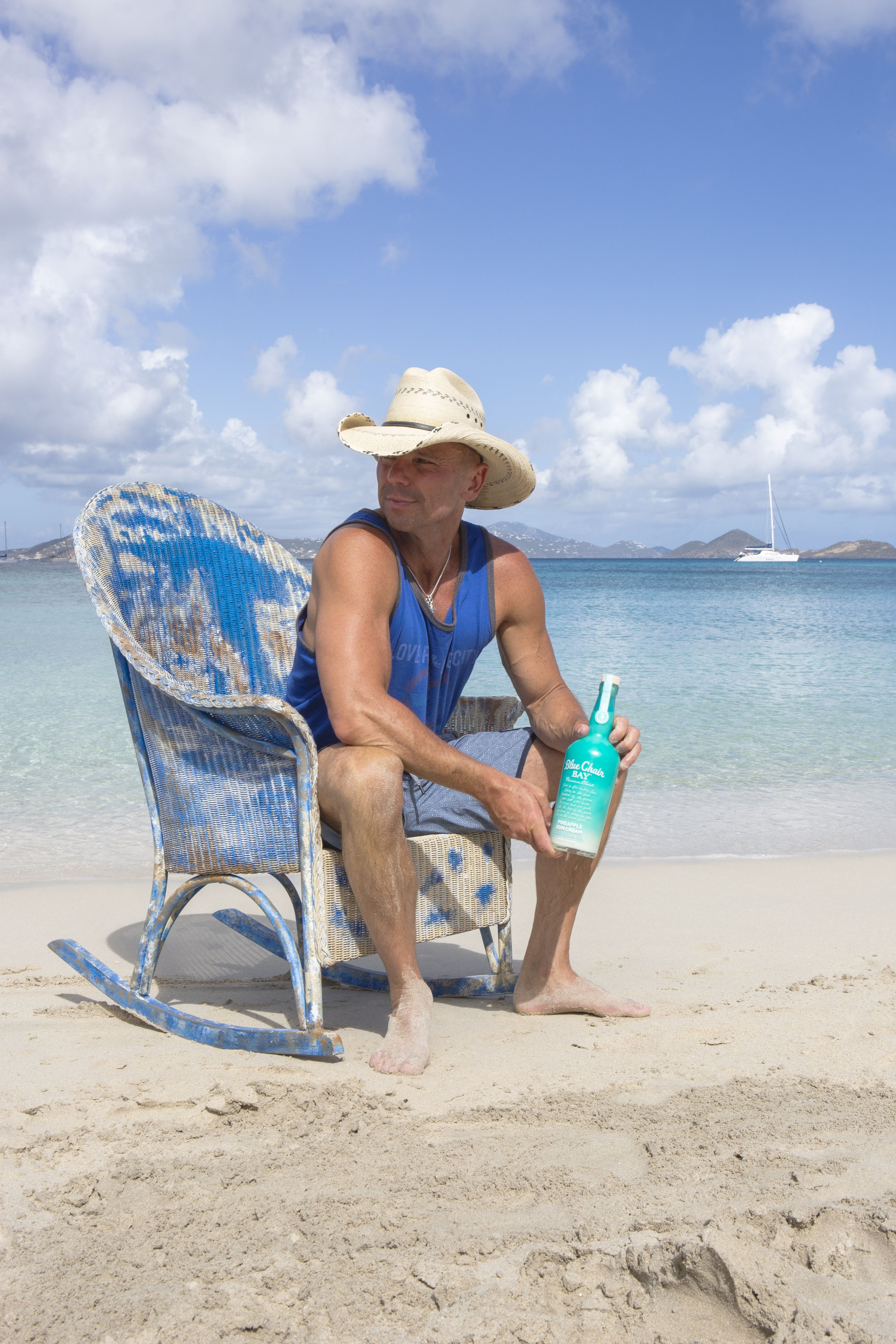 Kenny Chesney Blue Chair Bay Hats Eames Lounge Knock Off Introducing Rum S Newest Flavor Pineapple Cream