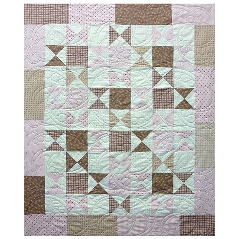 Neapolitan Cot Crib Quilt Kit The Bramble Patch Soft