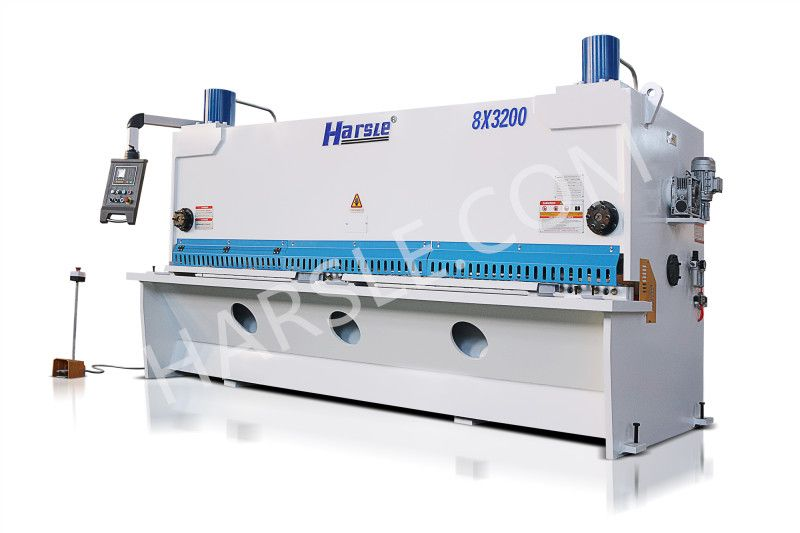 Qc11k 8 3200 Hydrauliac Swing Beam Shearing Machine Hydraulic Metal Shear Manufacturers If You Are Interested In This Machine Please Contact Me E Mail Info