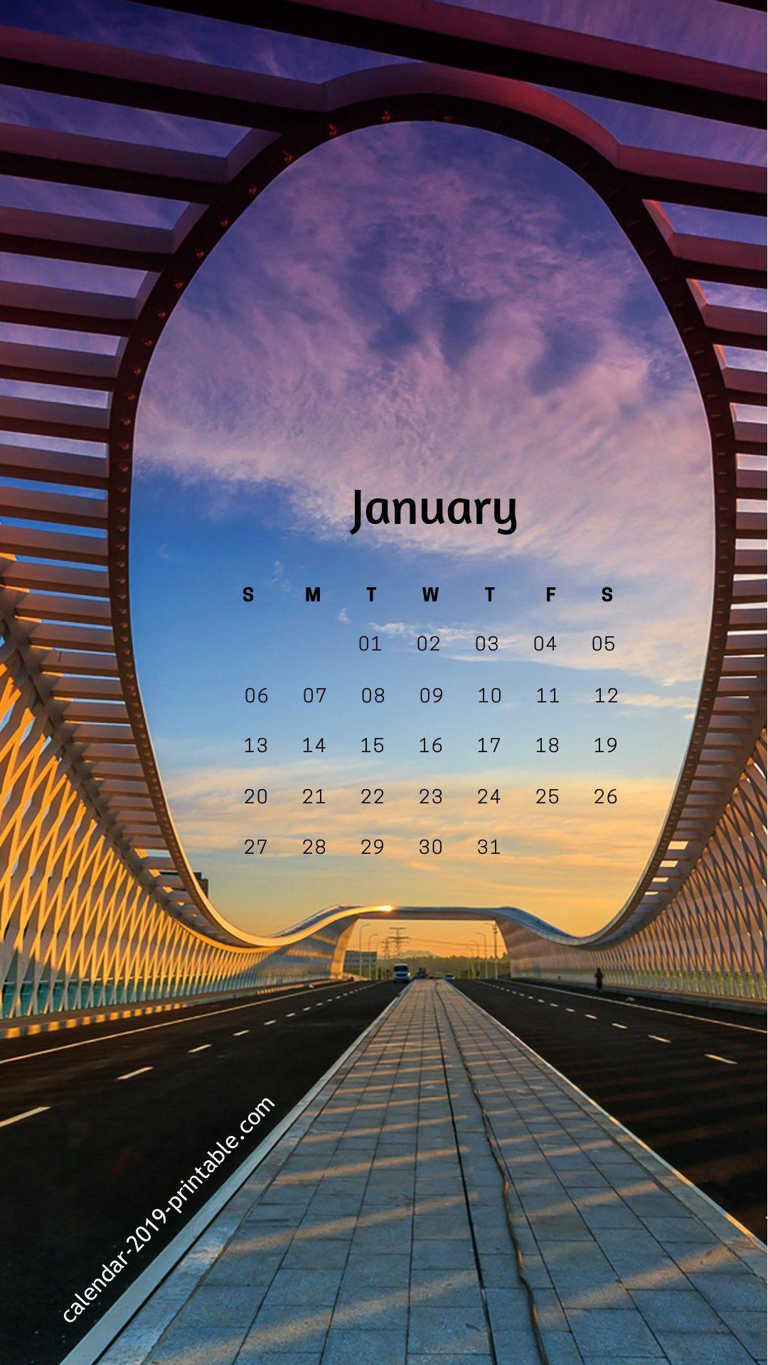 january 2019 iphone screen wallpaper Wallpaper ponsel
