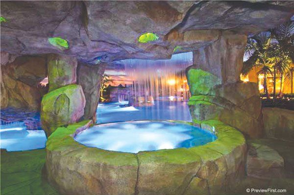 The grotto spa