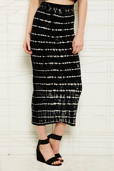 Sparkle & Fade Dyed Maxi Skirt at Urban Outfitters