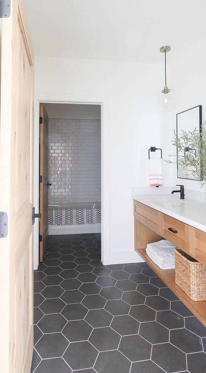 Floor Tile Laundry Room In 2019 Modern Farmhouse
