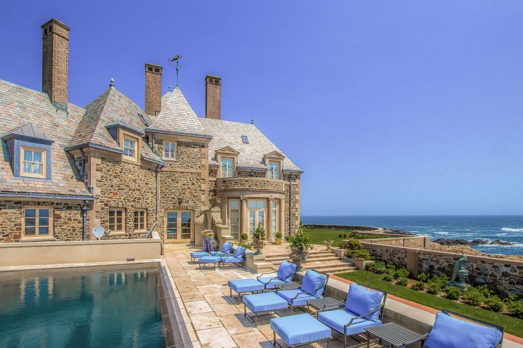 254 Ocean Avenue Newport Ri 02840 Mansions Rhode Island Mansions Ocean Front Homes