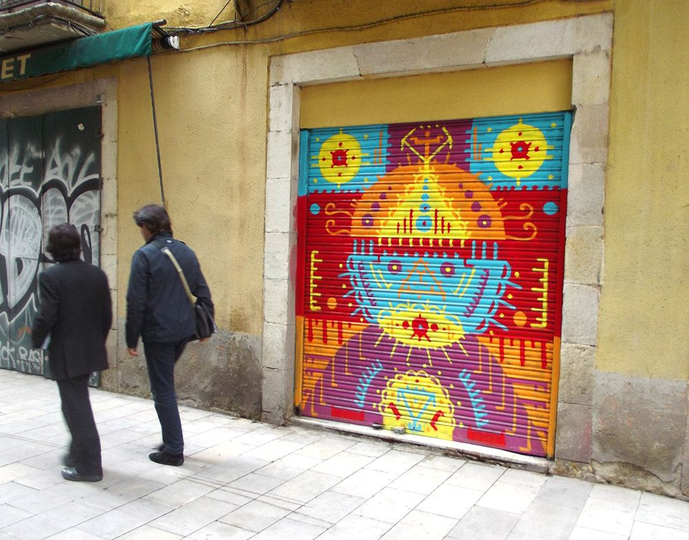 """""""Street Plaza"""" by H101 in Barcelona."""
