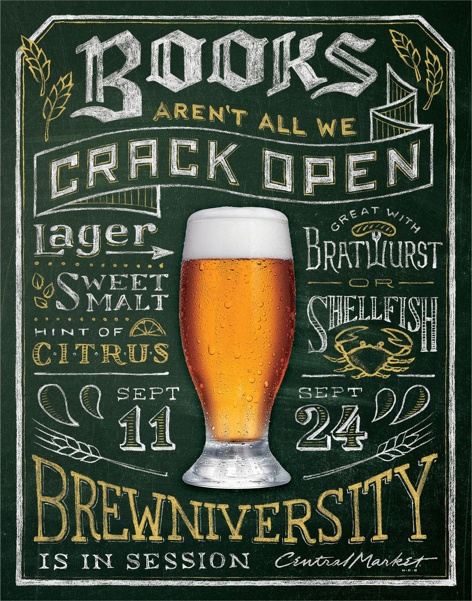 RBMM – Graphic Design Dallas, TX | Central Market Brewniversity beer ...